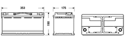 "������� �������������� ""Micro-Hybrid AGM"", 12� 95�/�"