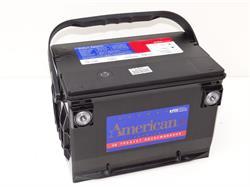 """Батарея аккумуляторная """"AMERICAN USA"""", 12В 95А/ч"""
